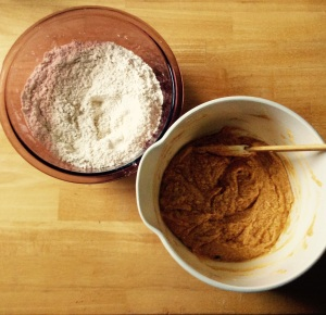 pumpkin cookie batter