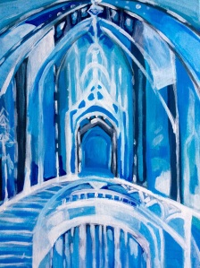 frozen painting