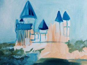 Hogwarts painting