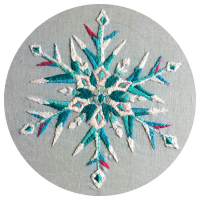 Capturing Everyday Magic: Snowflake Embroidery