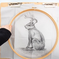 Tips and Tricks for Drawing on Fabric
