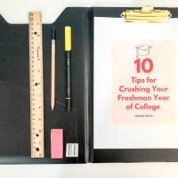 10 Tips for Crushing Your Freshman Year of College